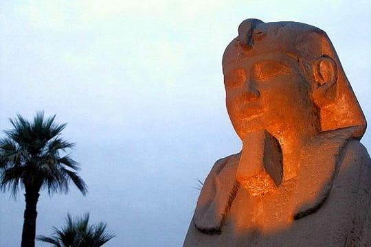 Un sphinx qui a gardé son nez