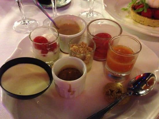 "Dessert : Le Relais 50  - Café ""très"" gourmand -"
