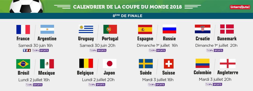 Coupe du monde les huiti mes au complet tableau - Qualification coupe du monde resultat ...