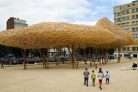 Cityscape par Arne Quinze à Bruxelles