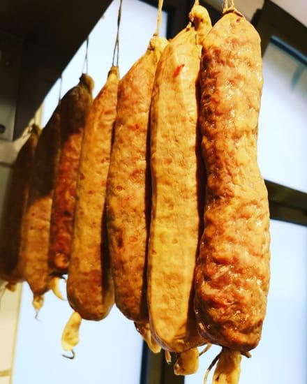 Entrée : La Cuisine à Mémé  - Saucisson de porc du Tarn -   © Entrée