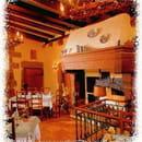 Restaurant : Au Lion d'Or  - La cheminée -