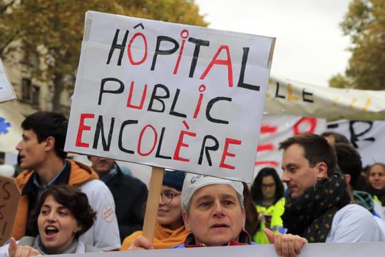 Manifestation pour l'hôpital: des milliers de personnes dans la rue