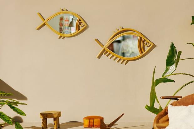 Un miroir original