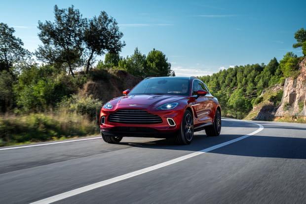 Aston Martin dévoile son premier SUV