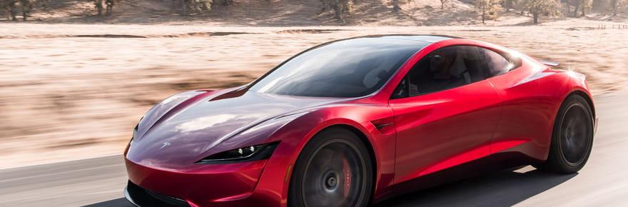 Tesla: le Tesla Roadster aux 1000km d'autonomie arrive [photos, prix]