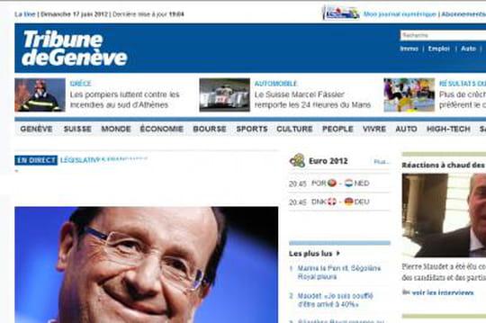 Elections législatives: les résultats diffusés aussi en Suisse