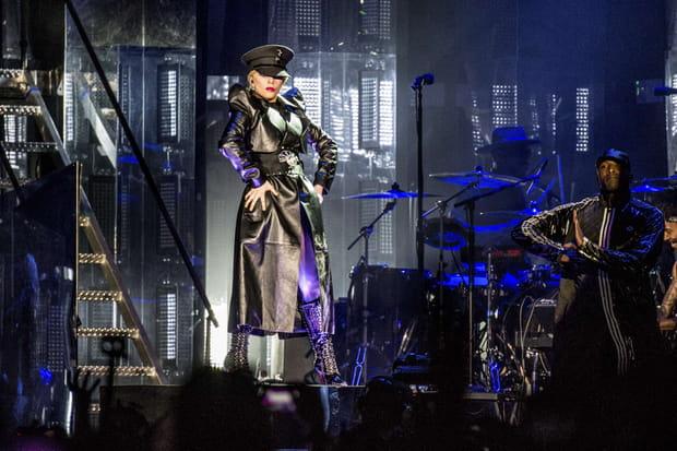 Lady Gaga sur scène