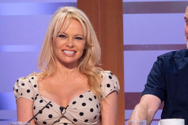 Pamela Anderson, compagne d'Adil Rami