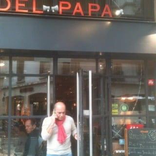 Restaurant : Del Papa  - restaurant a recommander seul ou entre amis convivialité  assurée  -
