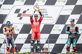 MotoGP: Dovizioso remporte le GP d'Autriche après un duel homérique avec Marquez