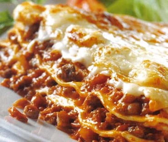 The Placeto Eat  - lasagne bolognaise -