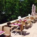 Restaurant : Le Gard 1895  - Terrasse au bord de la bevera jusqu'à 60 personnes  -