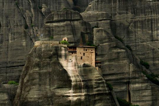 Monastère d'Agios Nikolaos en Grèce