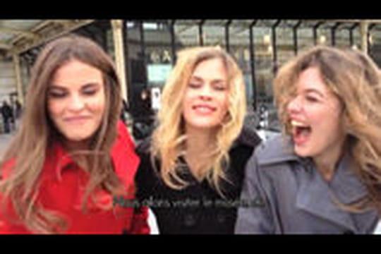 Repér@ge: Des filles en lingerie au musée d'Orsay