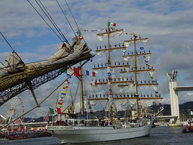 Découvrez l'Armada 2008à Rouen!