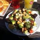 Plat : Au Bureau  - Salade  -