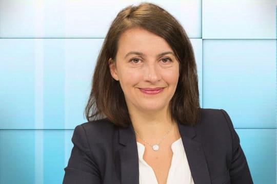 """Cécile Duflot:Cécile Duflotpour """"unscénario 100% renouvelable d'ici2050"""""""