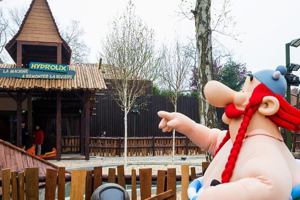 Les attractions à faire au parc Astérix