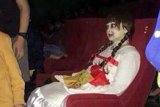 Annabelle: panique, bagarres, cris, lefilm déprogrammé dans plusieurs salles