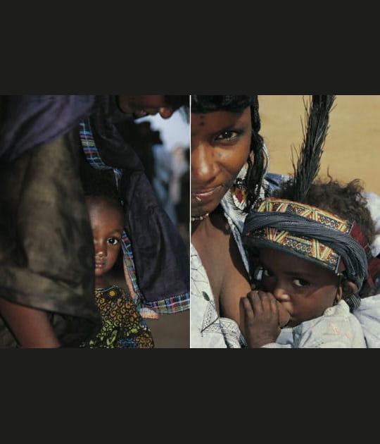 Les enfants nomades du Niger