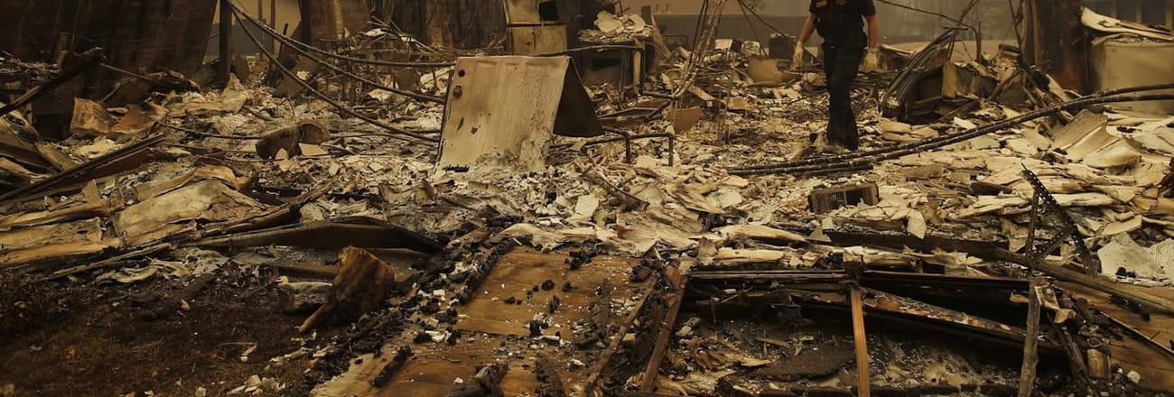 Les incendies les plus meurtriers depuis 85ans en Californie