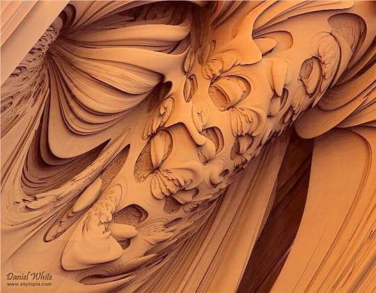Intérieur fractal
