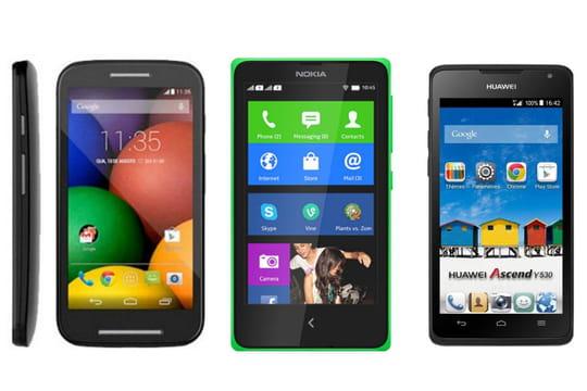 10 smartphones Android à moins de100euros