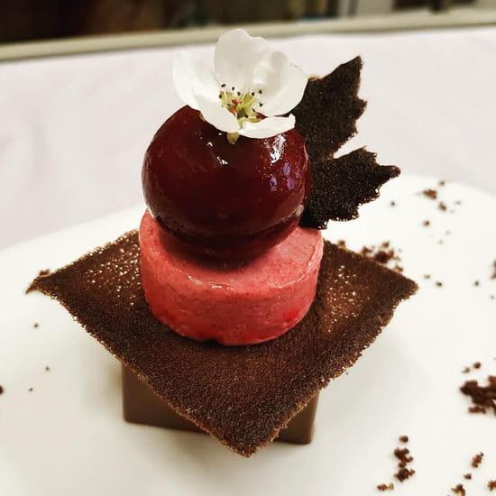 Dessert : La Fine Fourchette  - Chocolat -   © Dessert