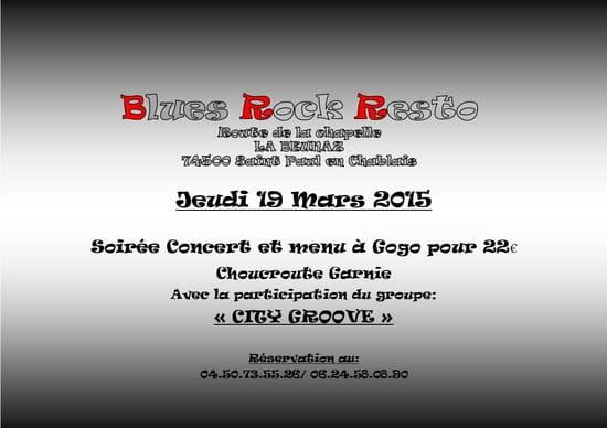 Blues Rock Resto  - Soirée Concert du Jeudi 19 Mars 2015 -   © Stéphanie Lefebvre