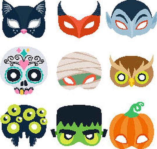 Masque d'Halloween: idées et conseils pour le fabriquer pour Halloween