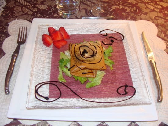 La Table Ronde des Chevaliers  - flûteau de frommage -
