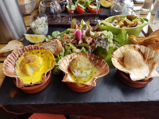 Restaurant : O'Gabier  - Ardoise St Jacques -