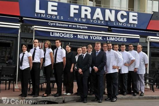 Le France Bar Brasserie Restaurant depuis 2012  - Le France Limoges  -   © le France Limoges