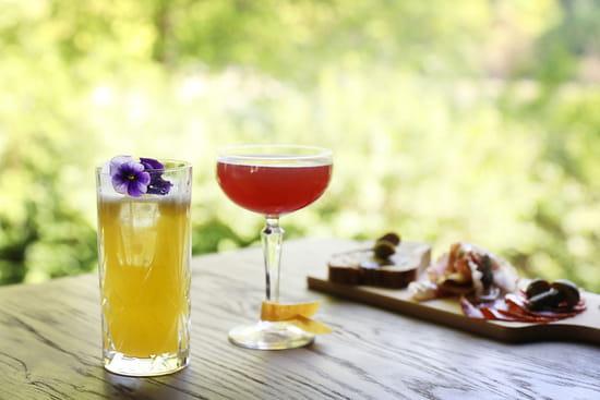 Boisson : Les Paillotes - Les Etangs de Corot  - Cocktails d'époque -   © Roberta Valério