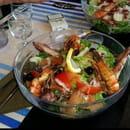 Plat : Le P'tit bateau  - Salade de gambas -