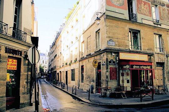 La rue du Maître Albert aujourd'hui