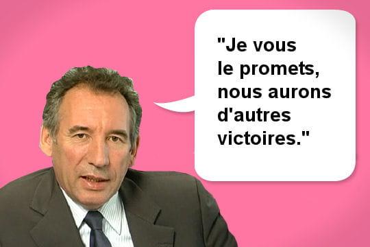 François Bayrou plein d'espoir