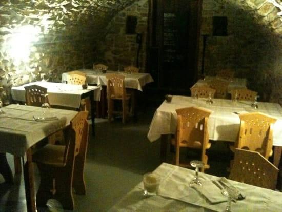 Restaurant : Le Père Vincent  - La salle voûtée -