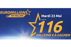 Résultat Euromillion du 23mai 2017: quelqu'un a-t-il remporté ce tirage exceptionnel?