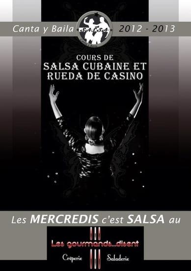 Les Gourmands...Disent  - Le mercredi soir à partir de 19H venez apprendre à danser la salsa aux GOURMANDS DISENT!! -
