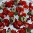 La Cour Jardin - Plaza Athénée  - Fabuleux desserts, et les fameuses fraises des bois ! -
