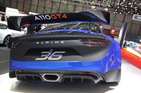 La nouvelle Alpine A110en images