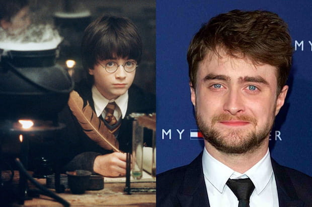 Daniel Radcliffe et ses yeux bleus