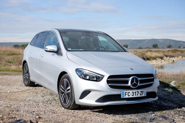 Essai du monospace compact de Mercedes, le Classe B