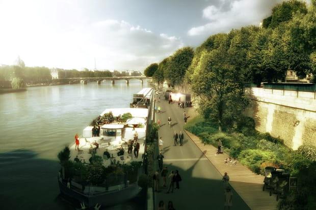 A quoi va ressembler le parc XXL des Rives de Seine?