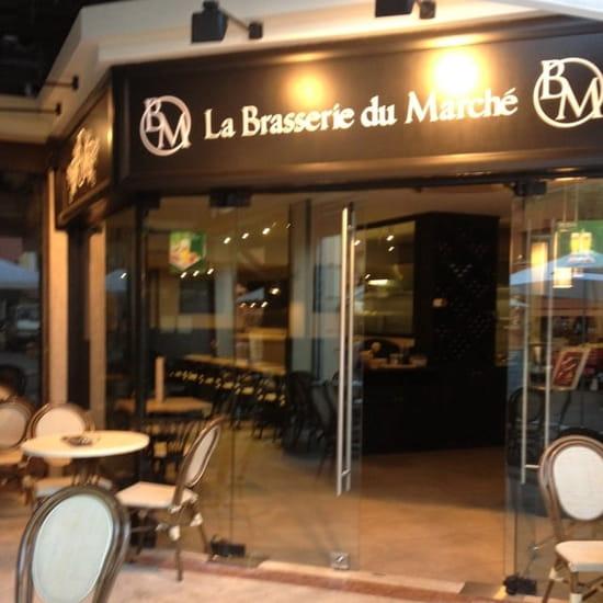 Entrée : La Brasserie du Marche