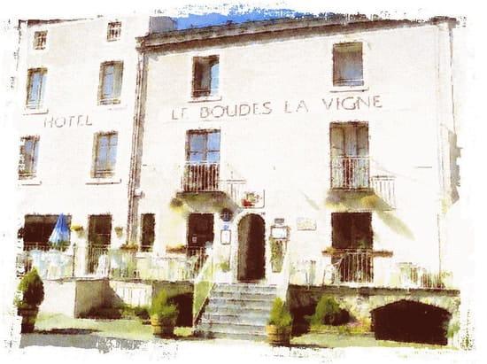 Le Boudes La Vigne  - Façade du restaurant -   © Boudes la Vigne