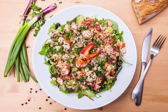 Jean Pince  - Salade de homard -   © Benjamin Guenault
