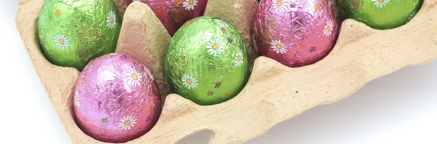 Que symbolisent les œufs de Pâques en chocolat?